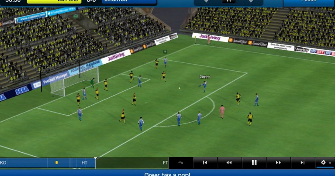 Football Manager Classic 2014 στο PS Vita