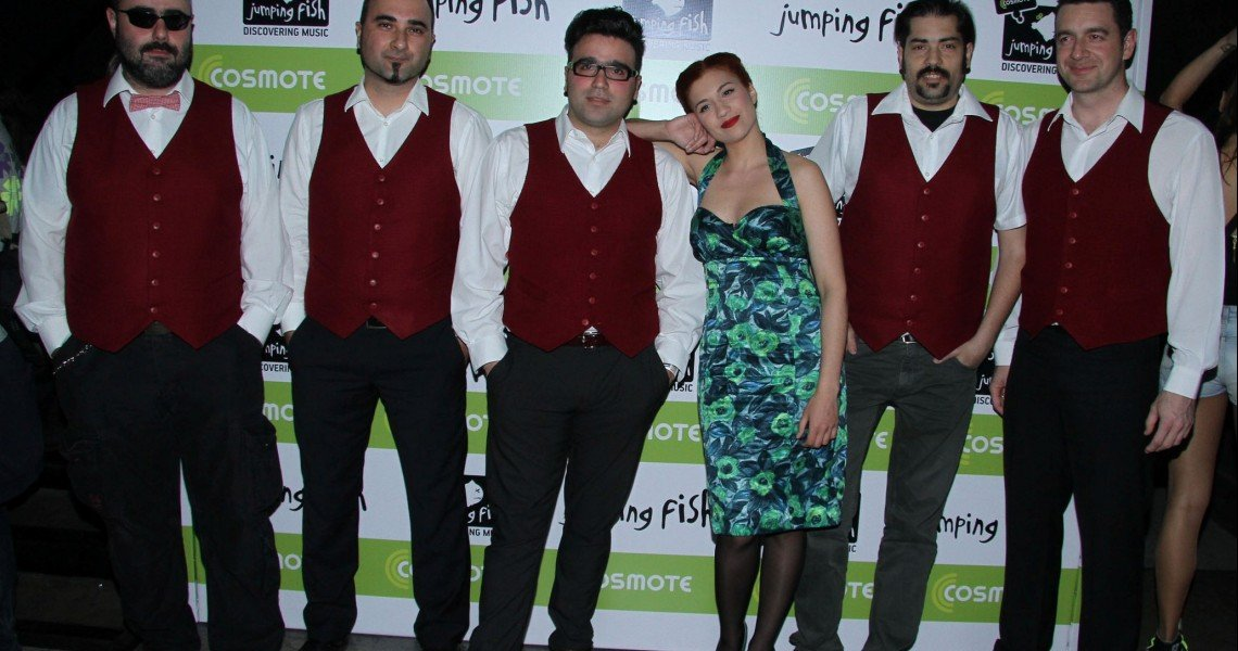 Το Jumping Fish της Cosmote παρουσιάζει τους Penny and the Swingin' Cats