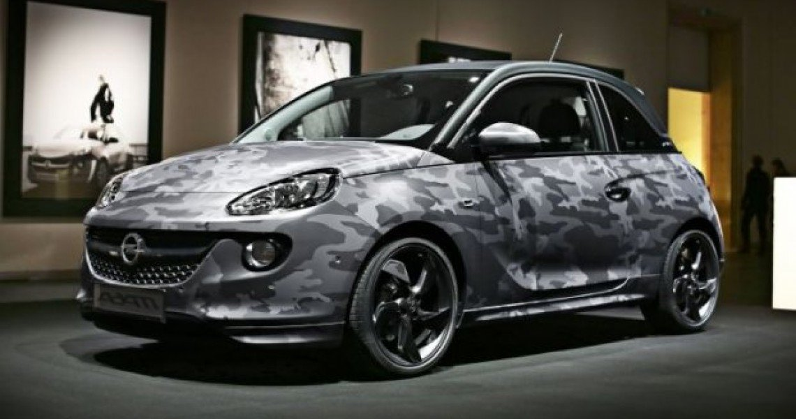 Ένα μοναδικό Opel Adam by Bryan Adams