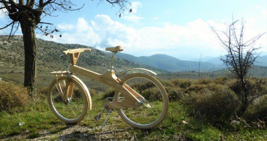 Athens Wooden Bike Tour 2016 by COCO-MAT