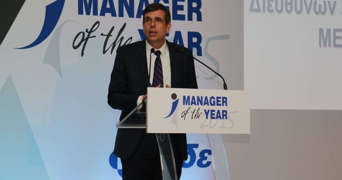 Manager of the Year 2015 ο Αριστοτέλης Παντελιάδης