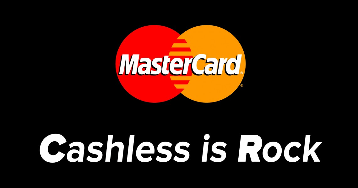 Cashless is Rock, από τη MasterCard