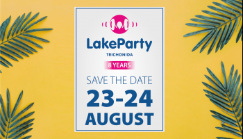 Lake Party Trichonida - Summer 2018 ξεκινά!