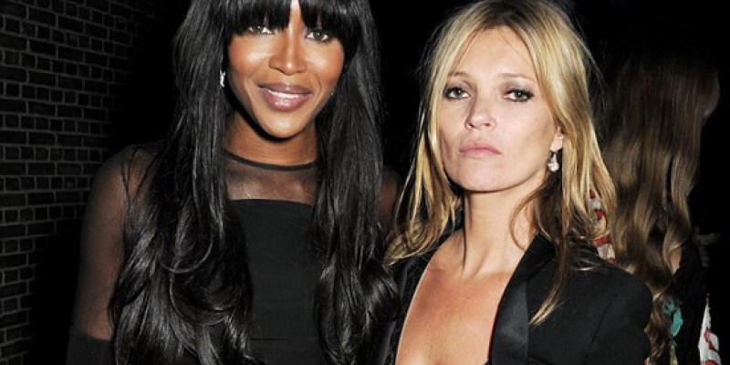 Naomi Campbell - Kate Moss: Καυτά μοντέλα σε κοινή έξοδο! (φωτό)