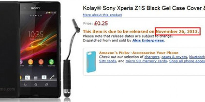 To Xperia Z1S αναμένεται στις 26 Νοεμβρίου
